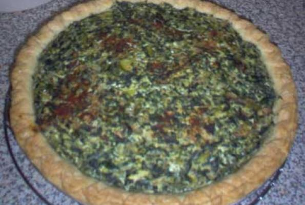 The best spinach quiche ever the world 39 s for The best quiche ever
