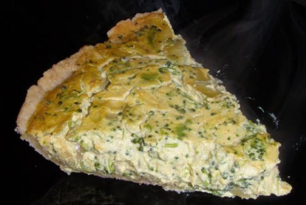 Tofu Quiche with Spinach and Broccoli | VegWeb.com, The World's ...
