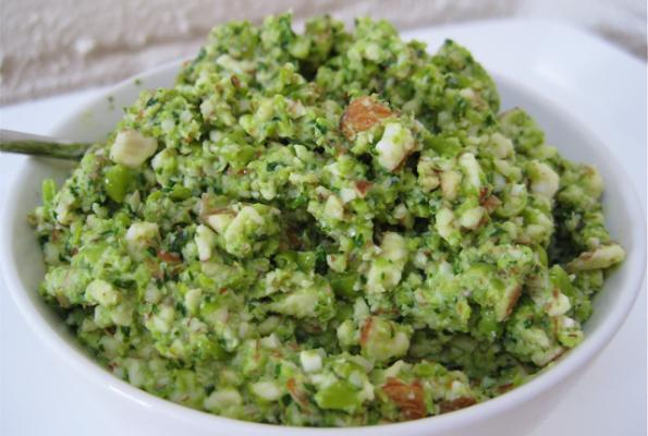 Raw Green Pea and Almond Dip | VegWeb.com, The World's Largest ...
