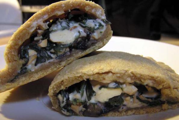"Smoky ""Cheese"" and Spinach Empanada Filling | VegWeb.com, The World..."