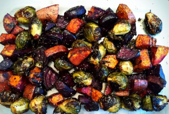 Amazing Rosemary Roasted Beets And Sweet Potatoes | VegWeb.com, The Worldu0027s Largest  Collection Of Vegetarian Recipes