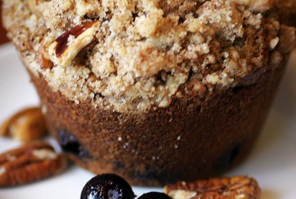 Amazing Healthy Blueberry Muffins   VegWeb.com, The World ... - photo#39