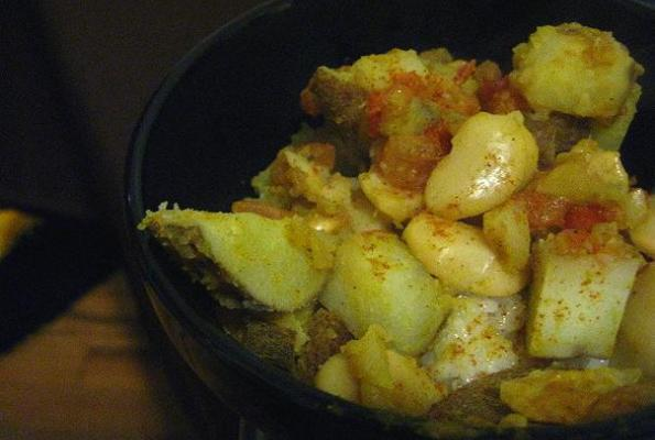 Butter Bean and Potato Curry | VegWeb.com, The World's Largest Collection of Vegetarian Recipes