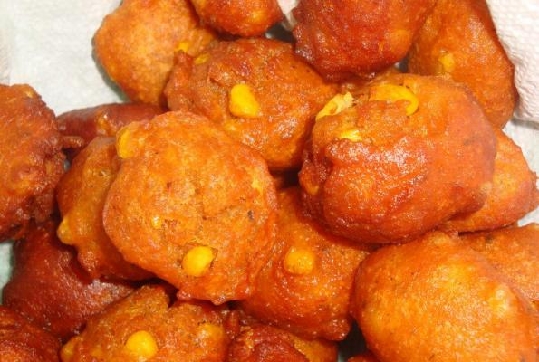 Corn Fritters | VegWeb.com, The World's Largest Collection of ...