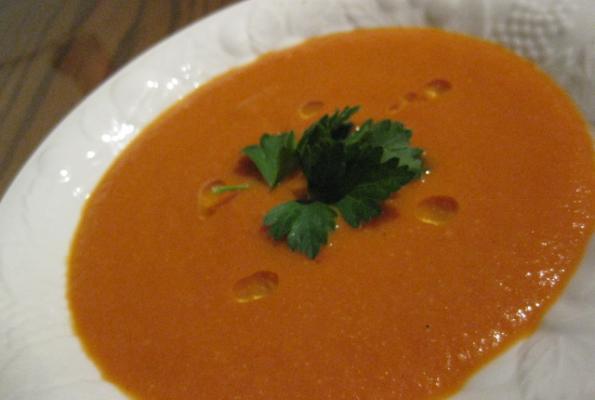 Carrot-Tomato and Creamy Cashew Soup | VegWeb.com, The ...