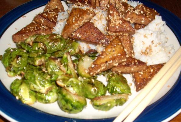 Super Easy Sesame Tofu! | VegWeb.com, The World's Largest Collection ...