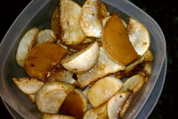 Maple Glazed Roasted Turnips | VegWeb.com, The World's Largest ...