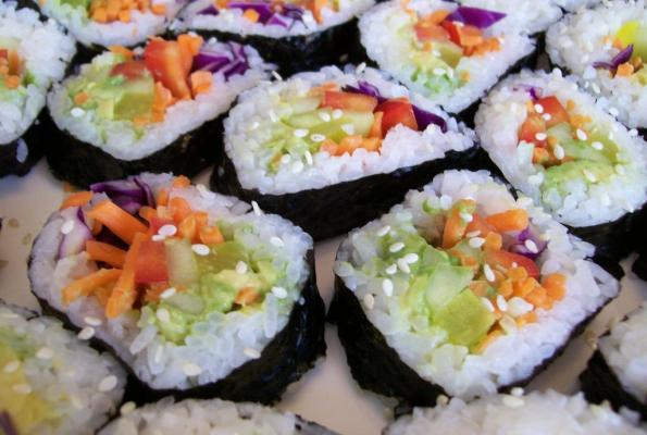 ... Nori Rolls | VegWeb.com, The World's Largest Collection of Vegetarian