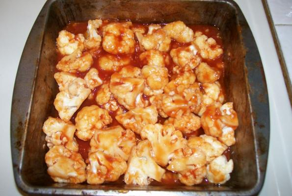 Roasted Cauliflower with Indian Barbecue Sauce | VegWeb.com, The World ...