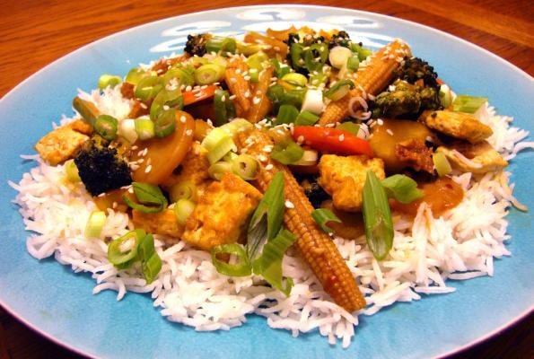 kung pow tofu