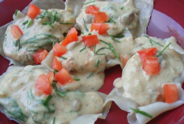 Presenting Olive Garden 39 S Ravioli Di Portobello Vegan Style The World 39 S Largest