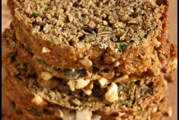 Banana Zucchini Bread or Muffins VegWeb.com, The Worlds Largest