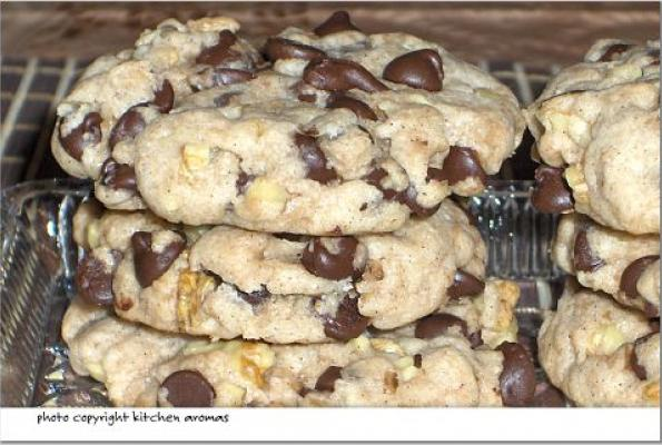 Recipe for vegan chocolate cookies