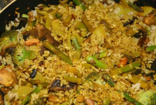 ten minute tasty asparagus and brown rice recipes dishmaps ten minute ...