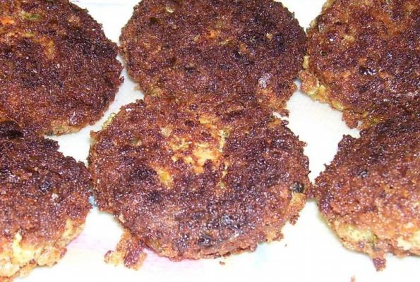 Crab Cakes With Whole Wheat Bread Crumbs